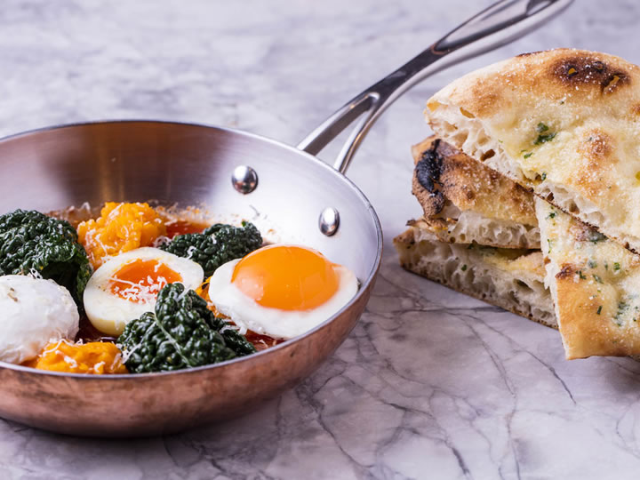 Italian Brunch with Free-Flowing Prosecco for Two