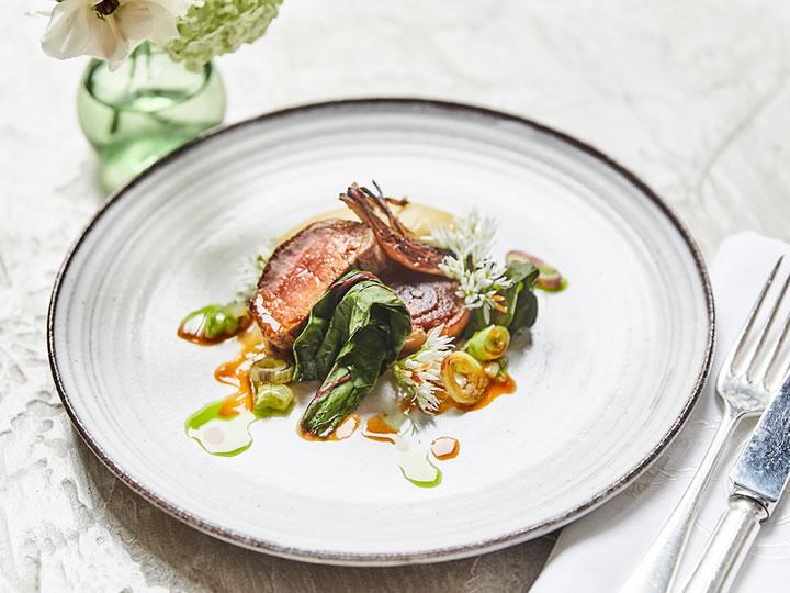 Six Course Seasonal Tasting Menu for Two at The Petersham