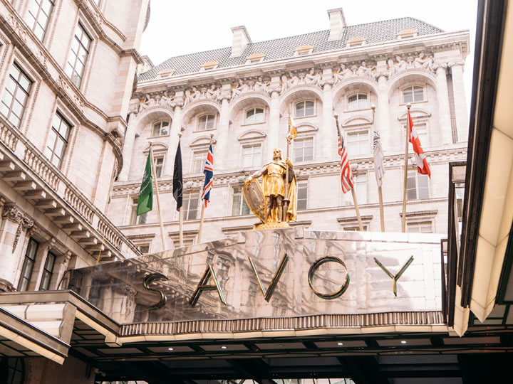 Champagne Lunch at Gordon Ramsay's Savoy Grill