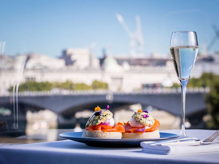 Thames View Weekend Brunch with Free-Flowing Prosecco